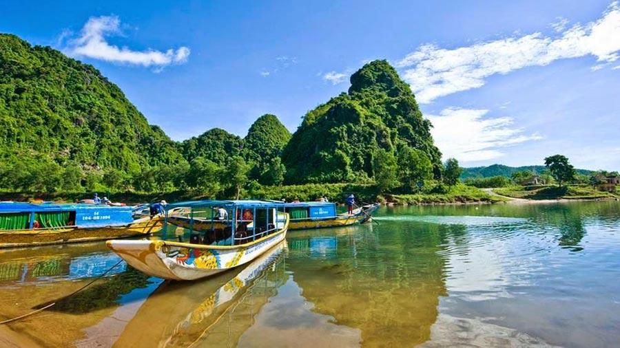 Khung cảnh Quảng Bình tuyệt đẹp