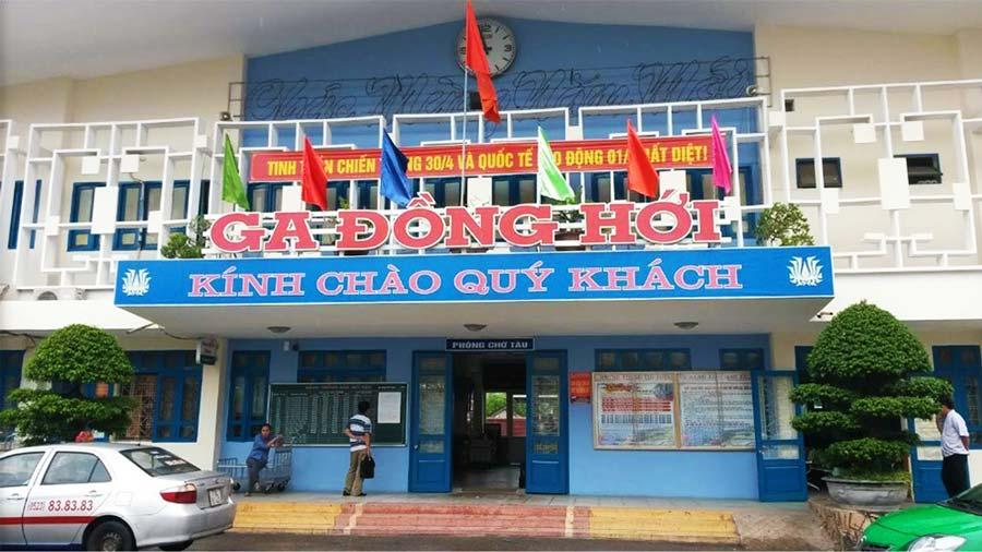 Ga Đồng Hới tại Quảng Bình