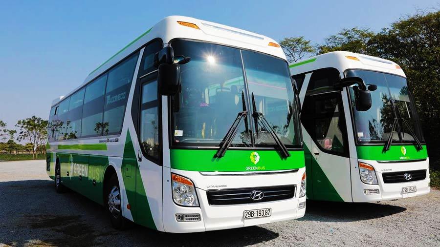 Dòng xe Green Sapa Bus hiện đại