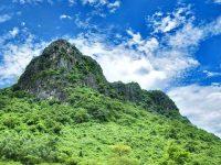 Núi Thần Đinh hùng vĩ, linh thiêng