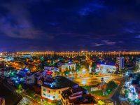 Thành phố Đồng Hới về đêm