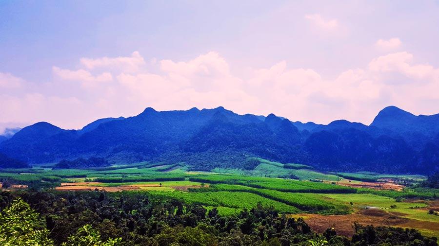 Thung lũng Chà Noi tươi đẹp