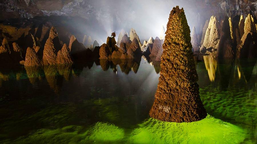 Vườn Quốc gia Phong Nha - Kẻ Bàng điểm du lịch không nên bỏ lỡ