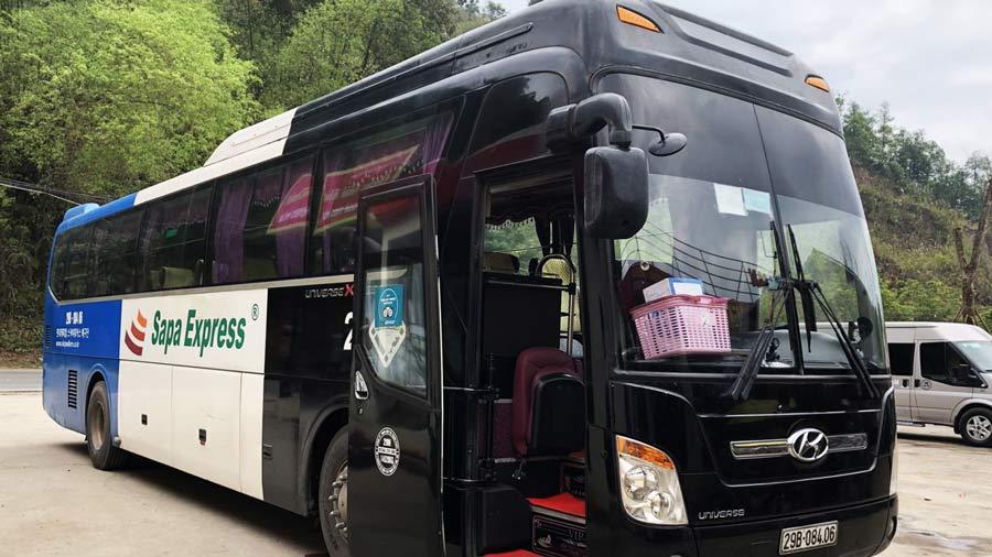 Sapa Express - Nhà xe chạy tuyến Hà Nội - Sapa uy tín