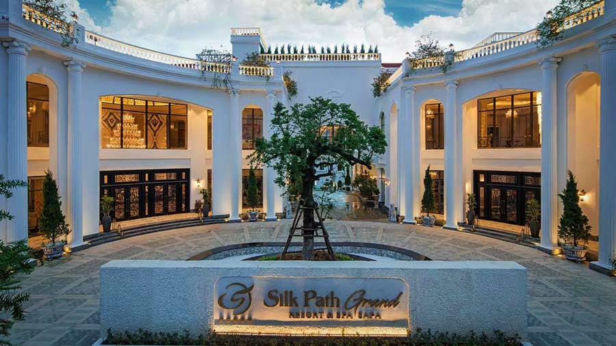 Kiến trúc Silk Path Grand Resort & Spa Sapa sang trọng