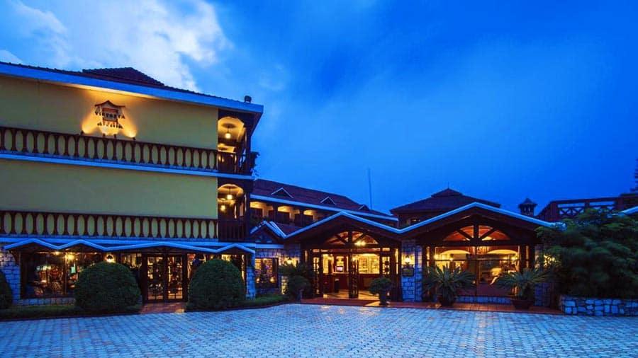 Khung cảnh Victoria Sapa Resort & Spa chiều buông