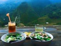 Ăn sáng ở Sapa