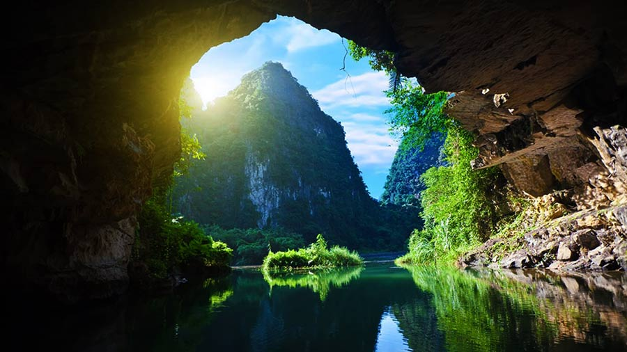 Đường vào Hang Tiên Sapa phong cảnh hùng vĩ