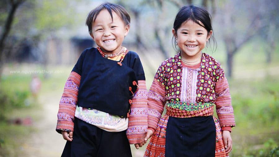 Các dân tộc Sapa mang những nét đặc trưng độc đáo