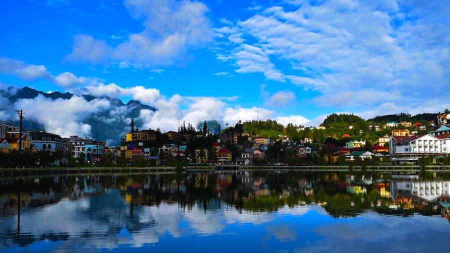 Hồ Sapa lãng mạn, yên bình