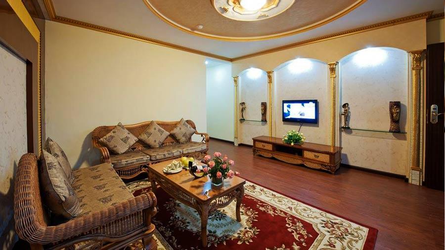 Không gian ấm cúng khách sạn Mường Thanh Sapa