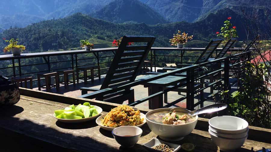 Tự nấu ăn tại homestay Tả Van Sapa là trải nghiệm vô cùng đáng nhớ
