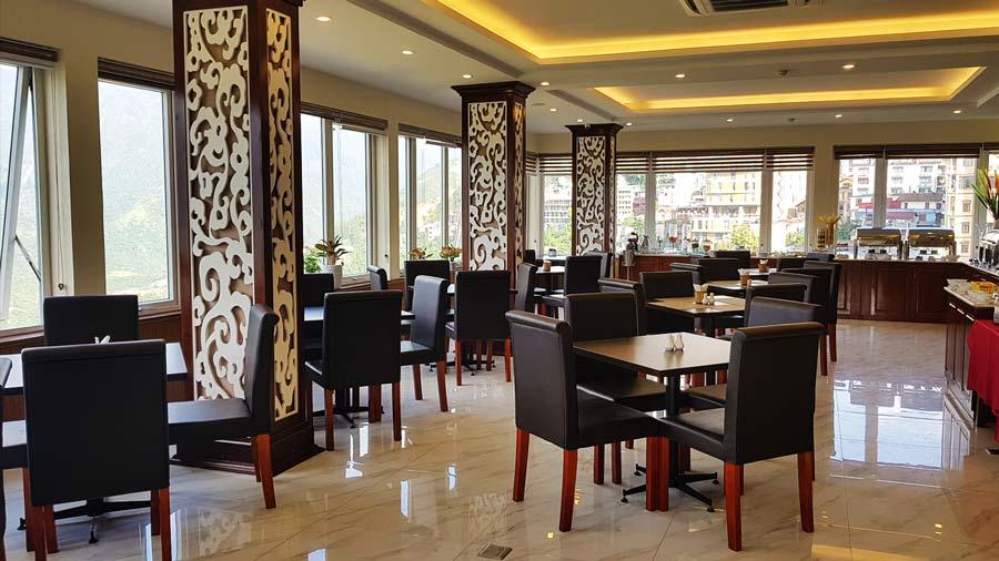 Nhà hàng Mây Trắng hiện đại tại khách sạn