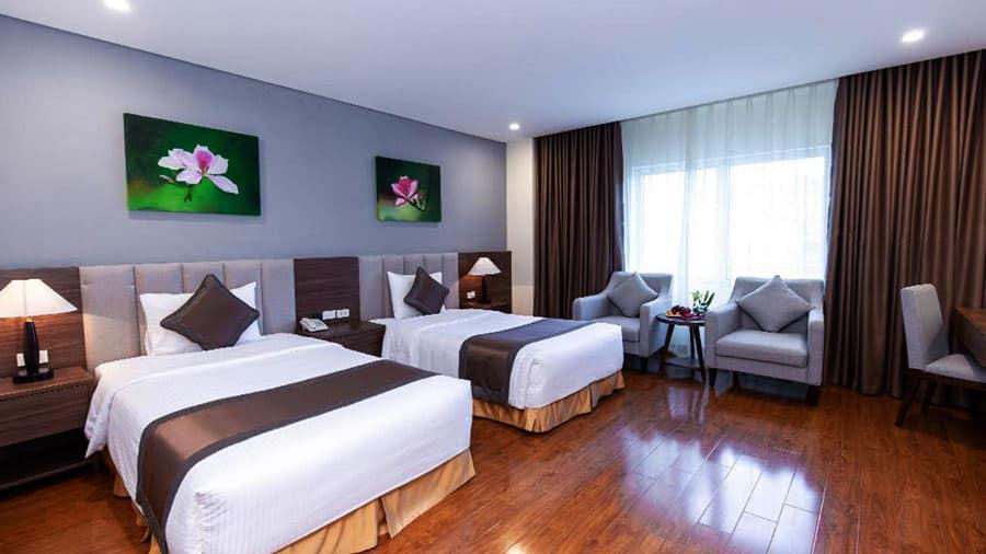 Không gian hiện đại phòng khách sạn Mường Thanh Sapa