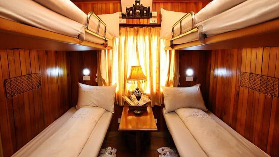 Nội thất tàu Sapaly Express