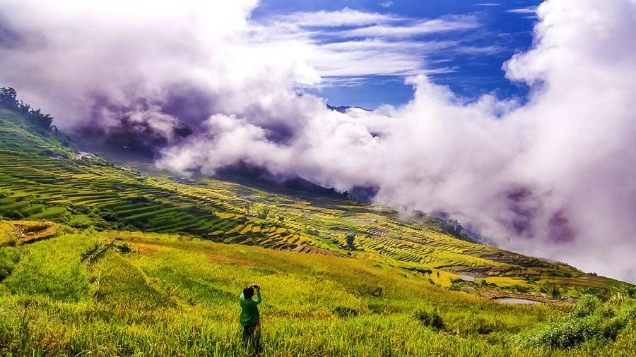 Săn mây tại xã Y Tý là trải nghiệm không gì tuyệt vời hơn