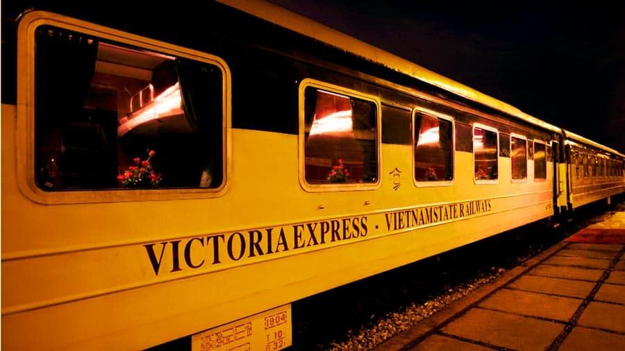 Tàu Victoria Express sang hiện đại