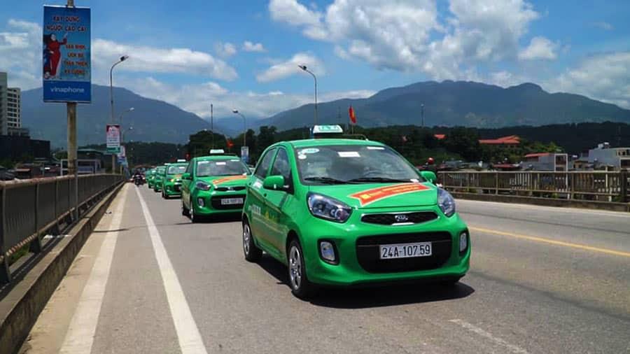 Taxi Mai Linh - Hãng taxi nổi tiếng chạy tại Sapa