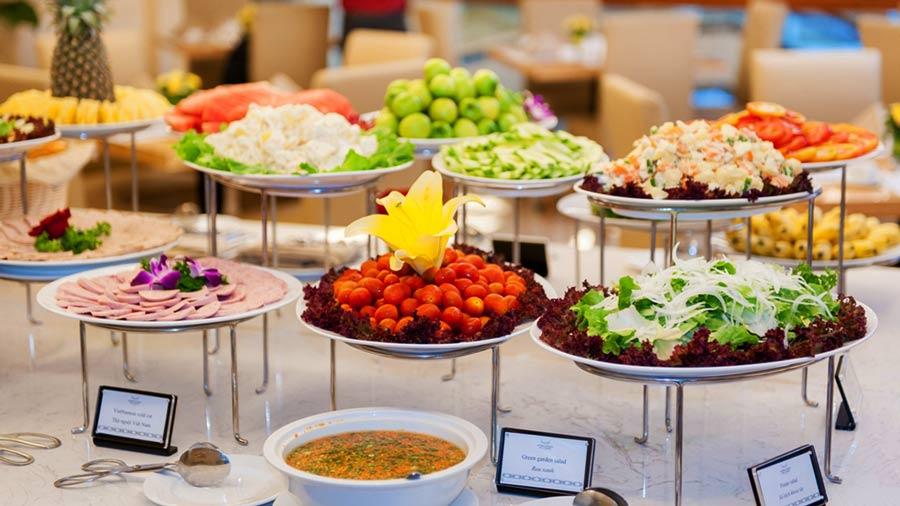 Thưởng thức những bữa ăn ngon tuyệt tại khách sạn