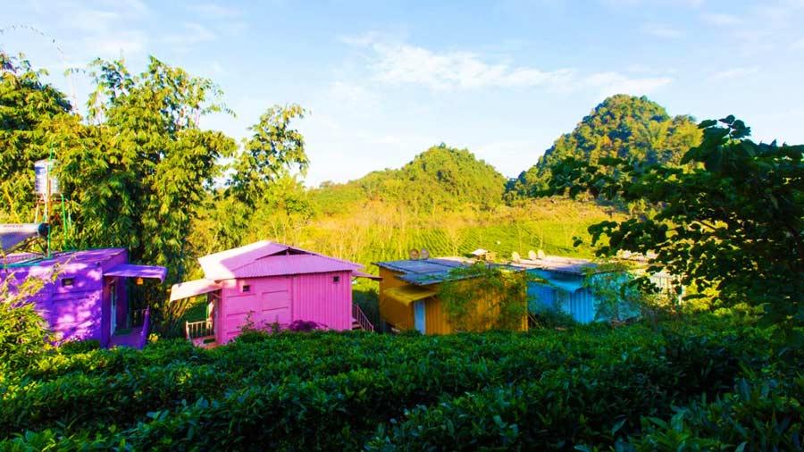 Sự độc đáo của những căn nhà container tại Mộc Châu Arena Village