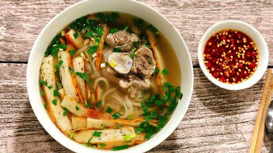 Bánh canh Quảng Bình thơm ngon nức tiếng