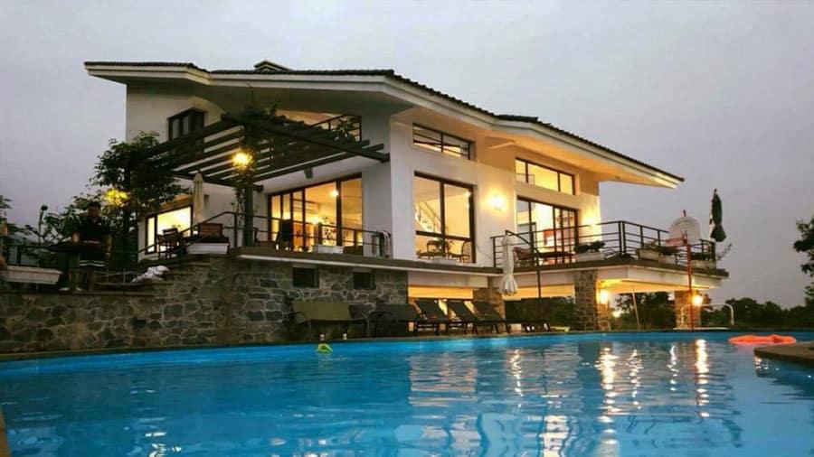 Golf View Villa ấn tượng du khách bởi khung cảnh thoáng đãng, yên bình