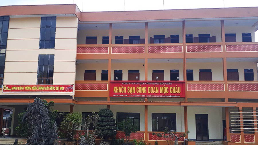 Khách sạn Công Đoàn Môc Châu thích hợp cho việc tổ chức các hội nghị, hội thảo kết hợp với du lịch