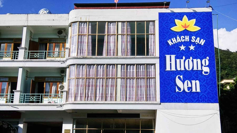 Khách sạn Hương Sen Mộc Châu tiện nghi, thuận tiện