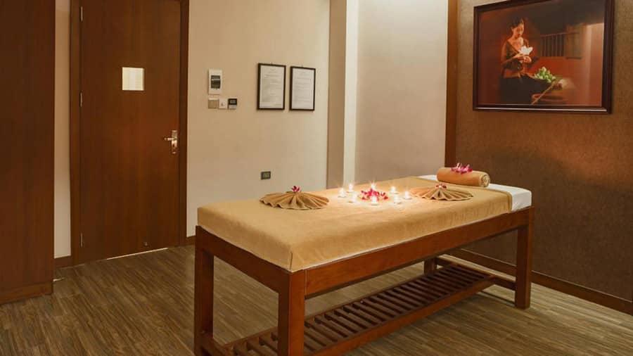 Thư giãn với dịch vụ massage tại khách sạn