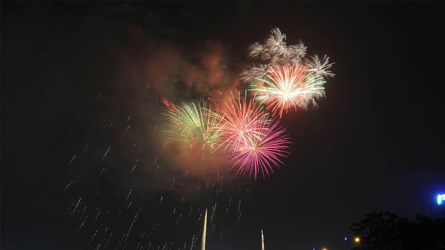 Màn bắn pháo hoa mừng Tết độc lập đêm ngày 1/9