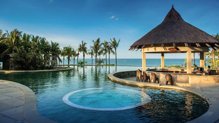 Hướng nhìn ra biển từ phòng Sun Spa Resort Ocean Suite