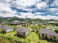 Toàn cảnh Thảo Nguyên Resort Mộc Châu nhìn từ trên cao