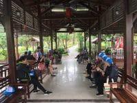 Cựu công nhân viên công ty Cao Su Sao Vàng đi du lịch Đại Lại
