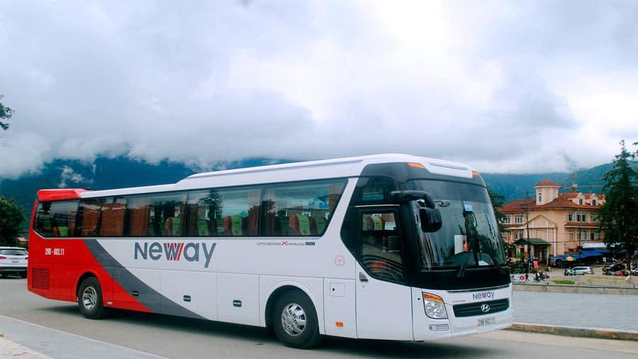 Xe bus Newway đi Tam Đảo