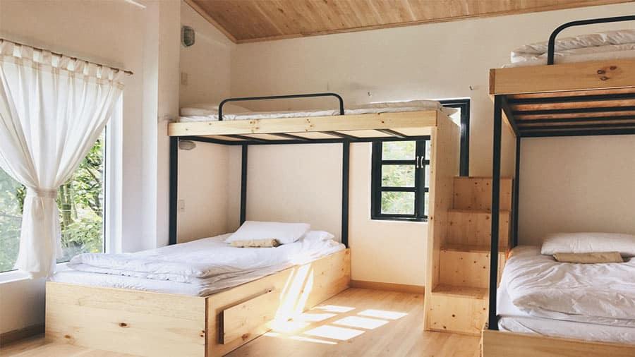 Phòng dorm tại Bơ House Mộc Châu