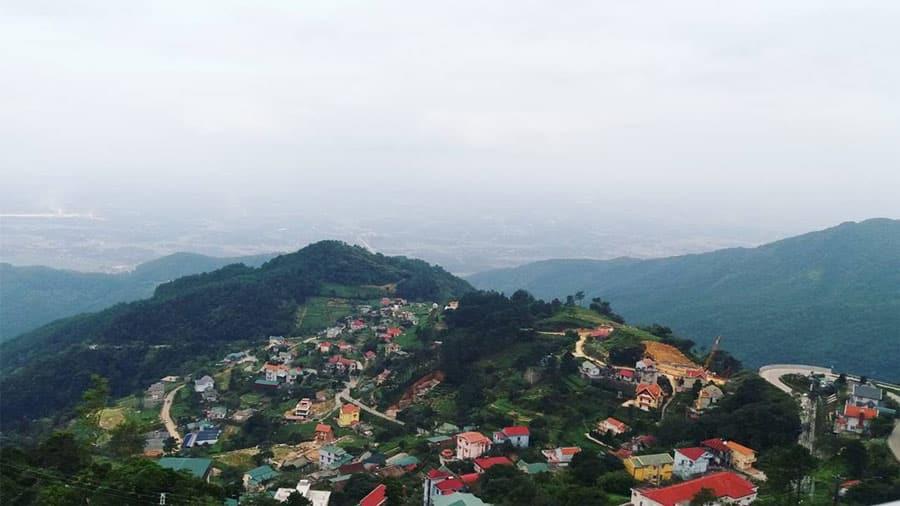 Tiểu vùng thuộc khí hậu miền núi