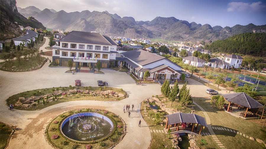 Khu đồi cọ Thảo Nguyên Resort Mộc Châu