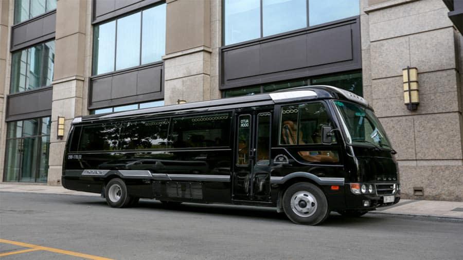 Nhà xe Nhật Nam - Limousine 16 chỗ