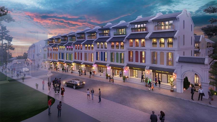 Mỗi căn nhà phố thương mại lại thể hiện sự tinh tế và sang trọng trong thiết kế theo một cách riêng.