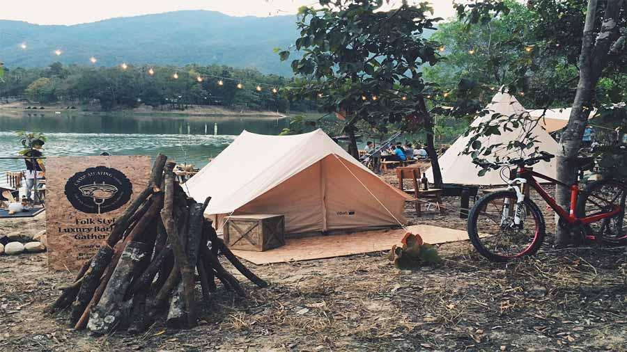 Trải nghiệm cắm trại tại Tam Đảo
