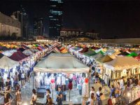 Quang cảnh chợ đêm Tam Đảo