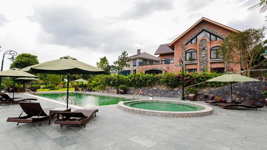Biệt thự G2 sân Golf and Resort Tam Đảo