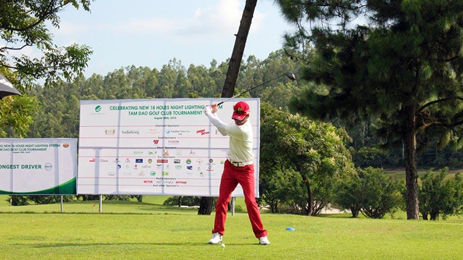 Sân chơi golf đóng một vai trò quan trọng để người chơi có được những giây phút thực sự thoải mái và thư giãn