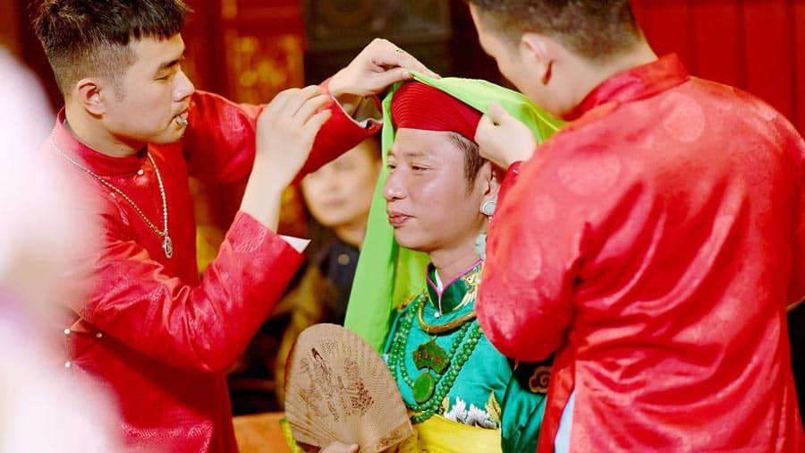 Lễ hầu đồng là tín ngưỡng văn hóa được tổ chức thường niên tại đền Bà Chúa Thượng Ngàn