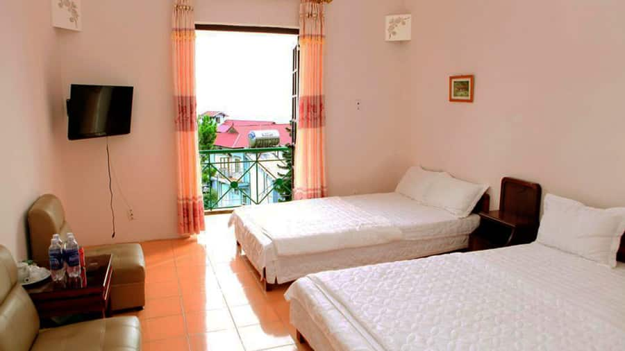 Khách sạn Cây thông Tam Đảo tiện nghi