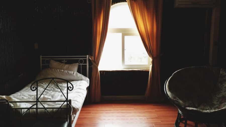 Không gian ấm cúng phòng khách sạn Chân Mây Tam Đảo