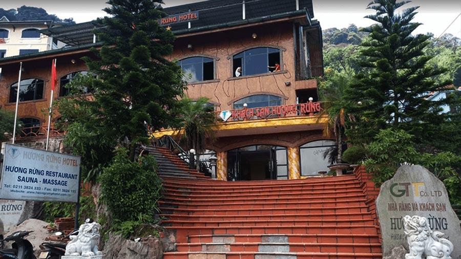 Trải nghiệm đáng nhớ tại khách sạn Hương Rừng