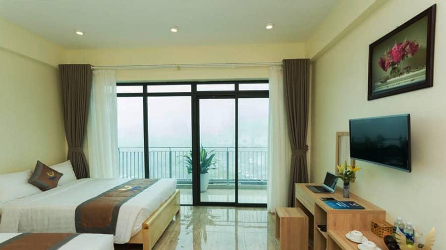 Nam Á Hotel Tam Đảo sang trọng, thoáng mát
