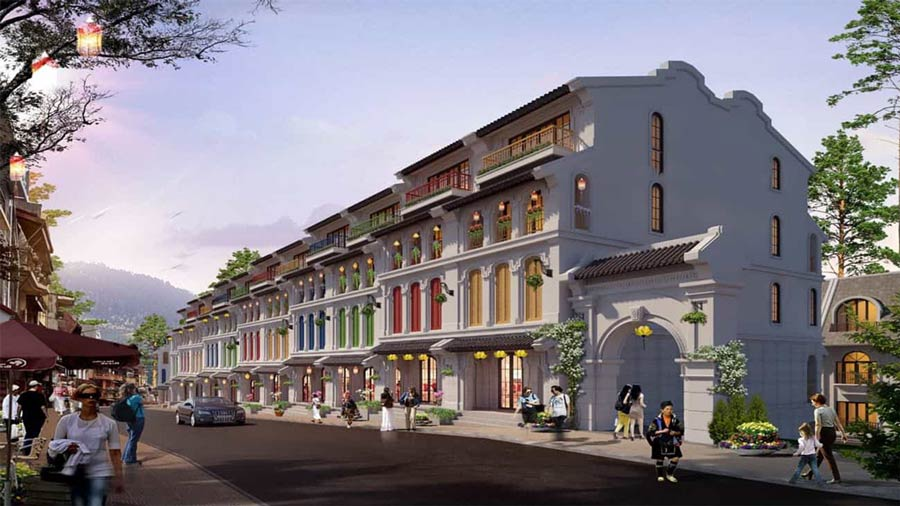 Shophouse Sun Group Sapa