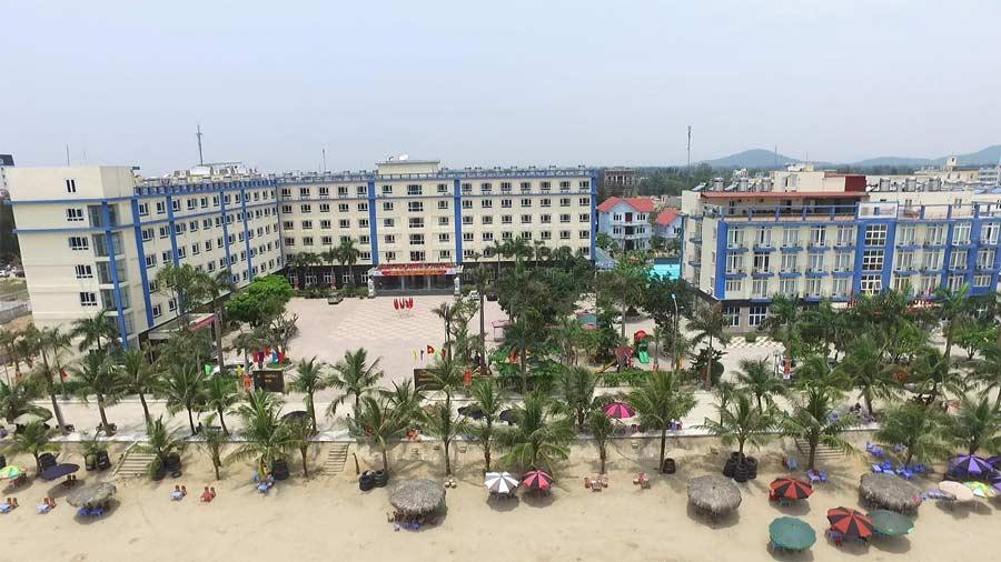 Toàn cảnh khách sạn Ánh Phương